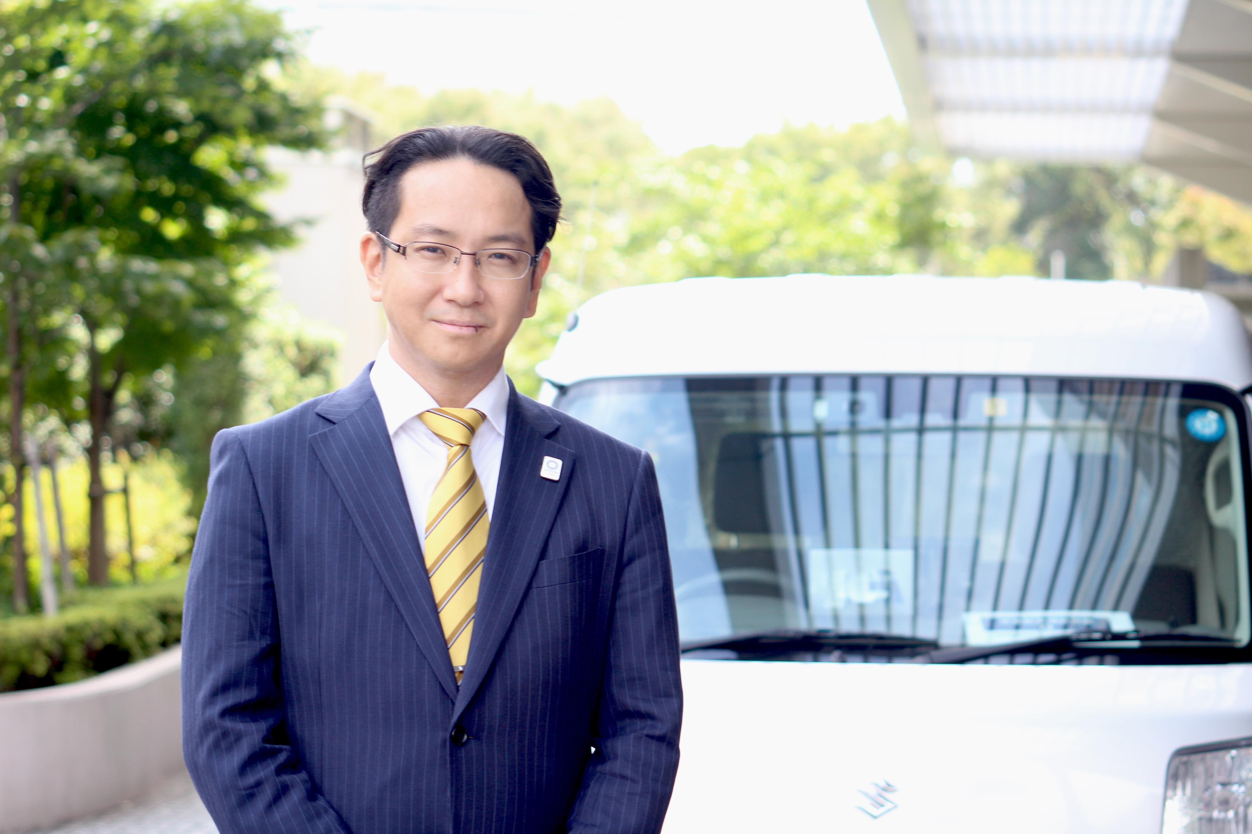 株式会社ドライブワークス代表取締役 小田長 竜太郎